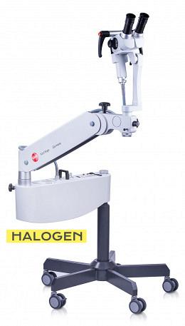 DEMO - Kolposkop SOM 52 Schrägtubus f=125 mm - auf ROLLSTATIV